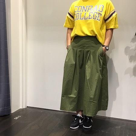 イオンモール 橿原店 【LeVentSoffle】ツインタックスカート