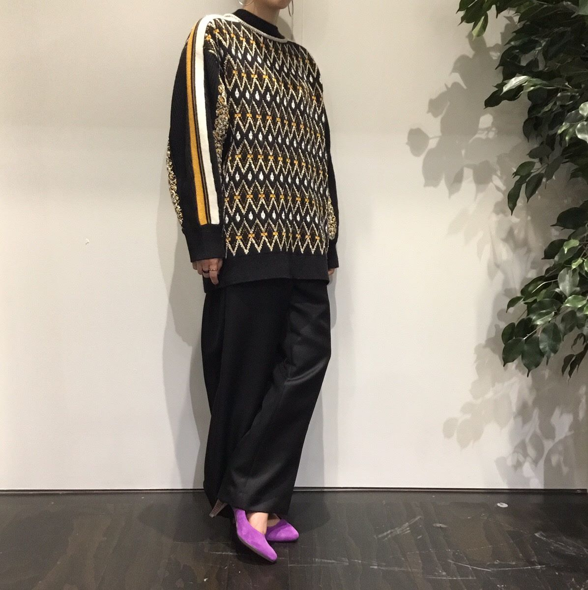 イオンモール 橿原店 【SNIDEL】ノルディックニットプルオーバー