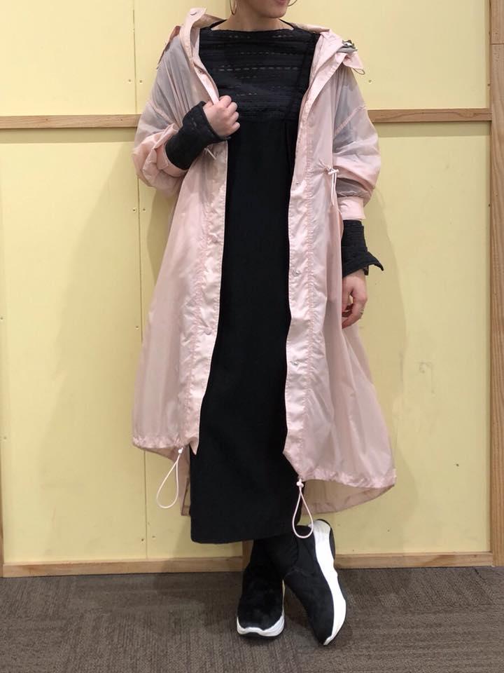 イオンモール 橿原店 【SNIDEL】バリエーションモッズCT