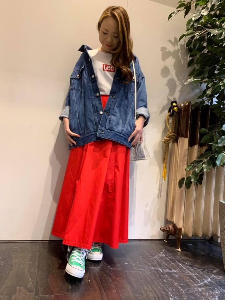 イオンモール 橿原店 【LEE】ボックスロゴTシャツ