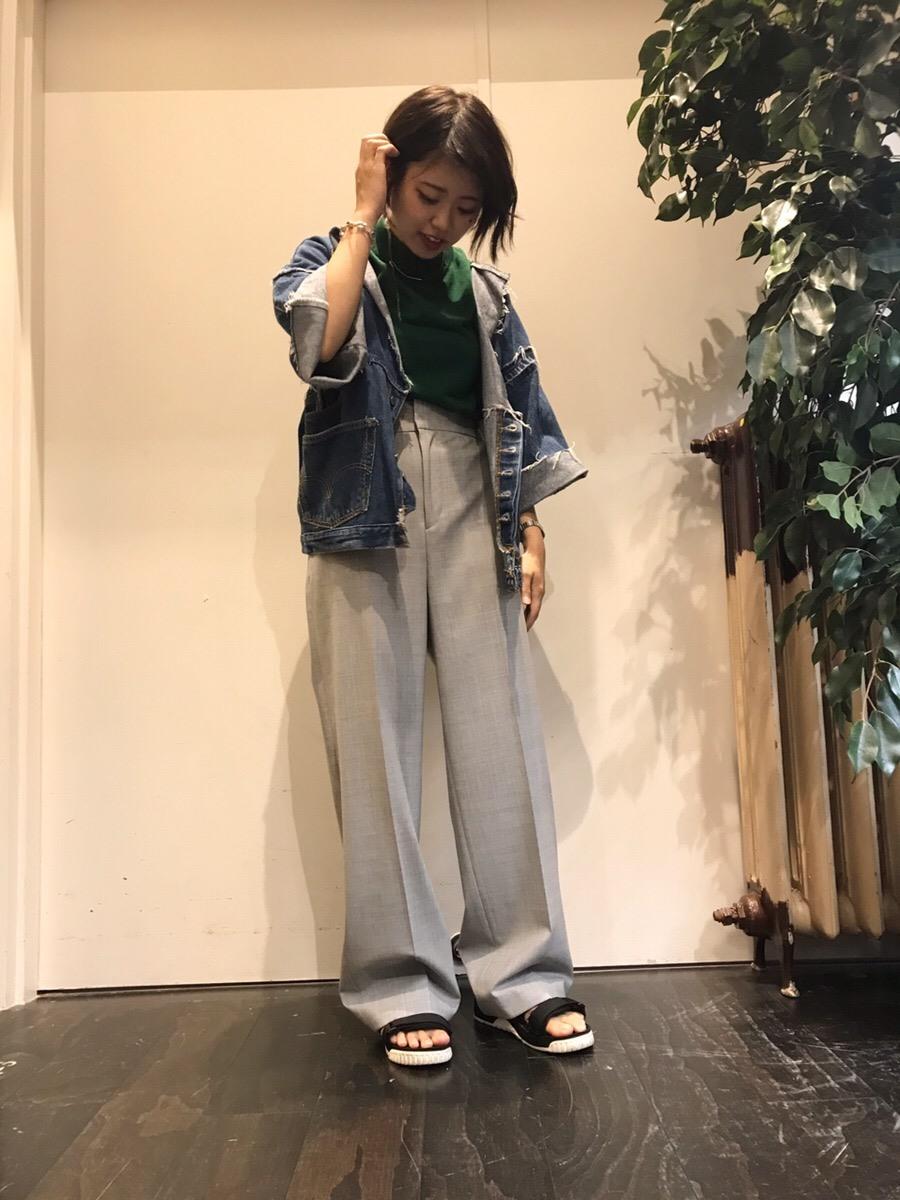 イオンモール 橿原店 【MACPHEE】セミワイドパンツ