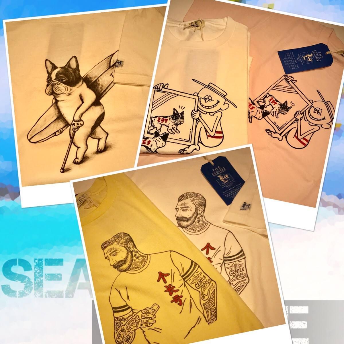草津店 【TES/The Endless Summer】Tシャツ入荷  各¥5,000+tax
