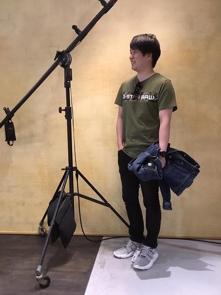 草津店 こんにちは。人気のG-STAR RAW から新作のTシャツが入荷しました!!