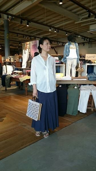 松井山手店 YANUK リネン混オーバーシャツ☆