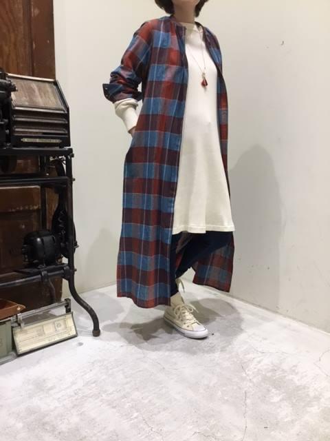 mozo ワンダーシティ店 またまた新作ALLUMERのロングシャツのご紹介です*