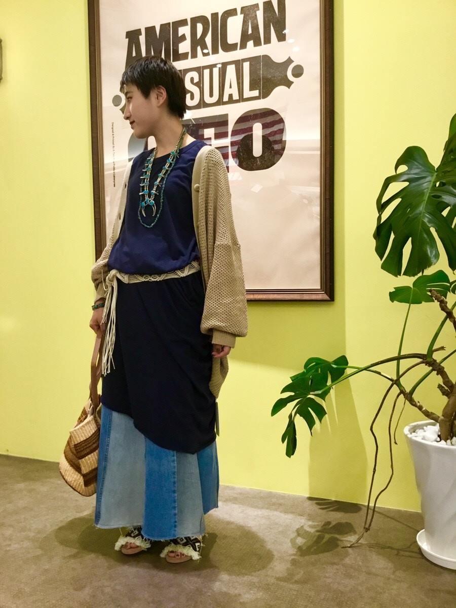 イオンモール四條畷店 【CAL.Berries】 マキシミューズドレスのご紹介です。