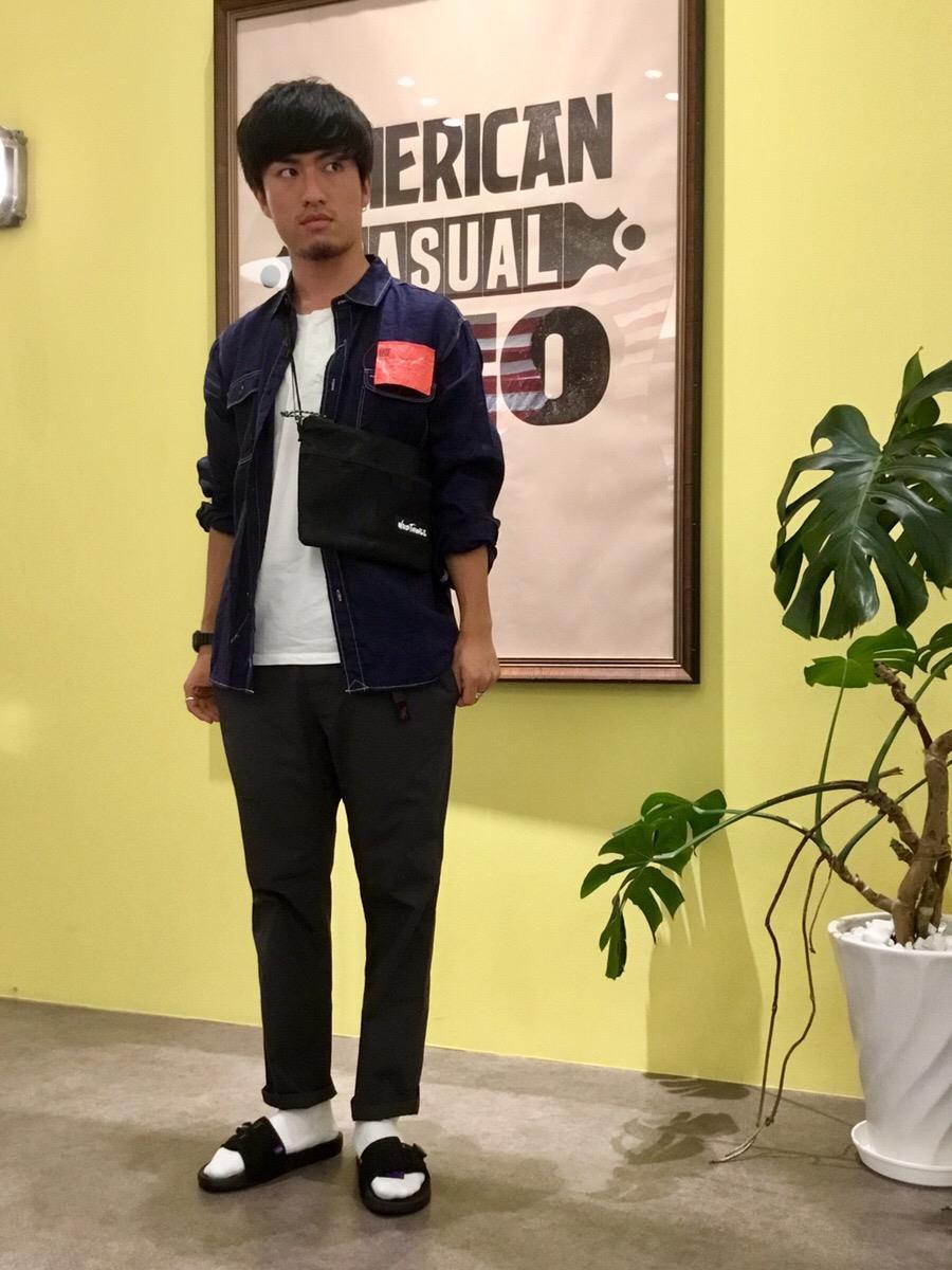 イオンモール四條畷店 【KATO'】リネンワークシャツのご紹介です!