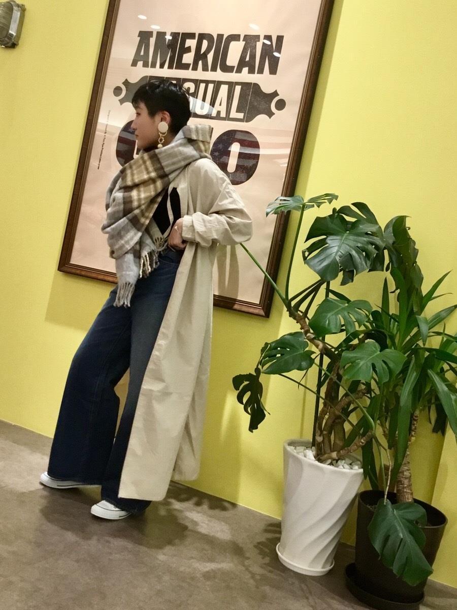 イオンモール四條畷店 【ALLUMER】シャツワンピース