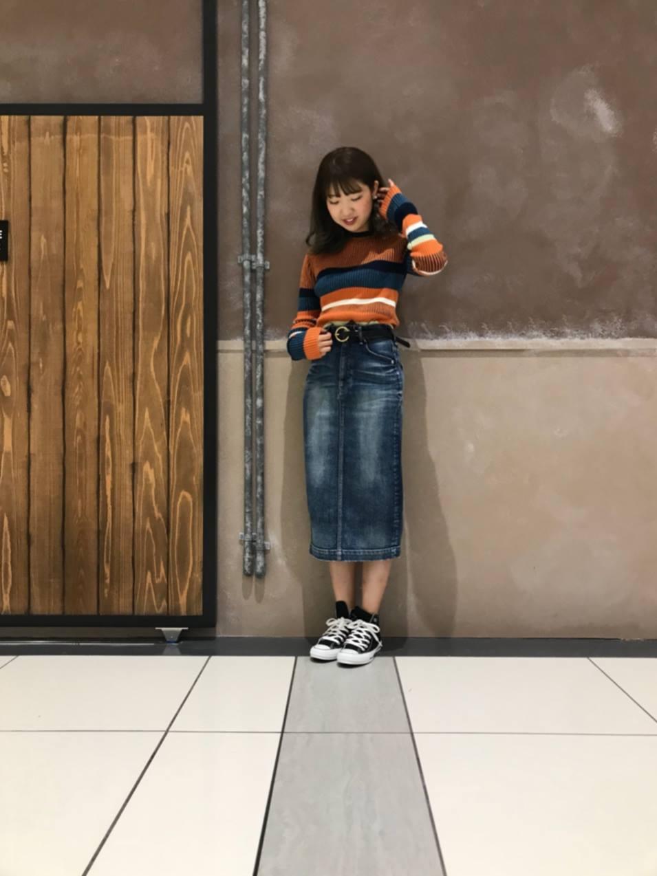 イオンモール大和郡山店 YANUK ロングタイトスカート